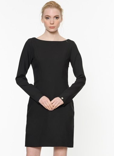 4G Elbise Siyah
